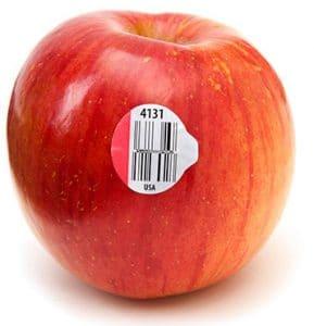 A fruta é orgânica ou se foi geneticamente modificada?