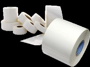 Conjunto de rolos de Etiquetas produzidas pela Altronix