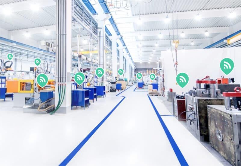 Identificação de diversos equipamentos e materiais de chão de fabrica através de tecnologia RFID